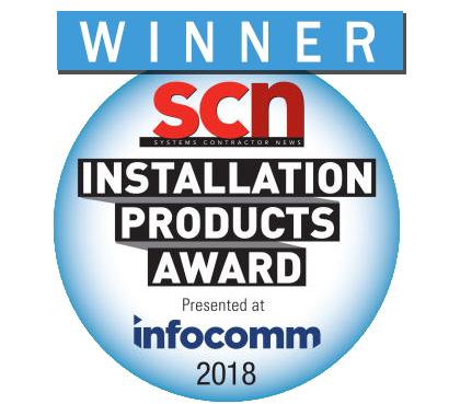 SCN/InfoComm Product Installation Awards