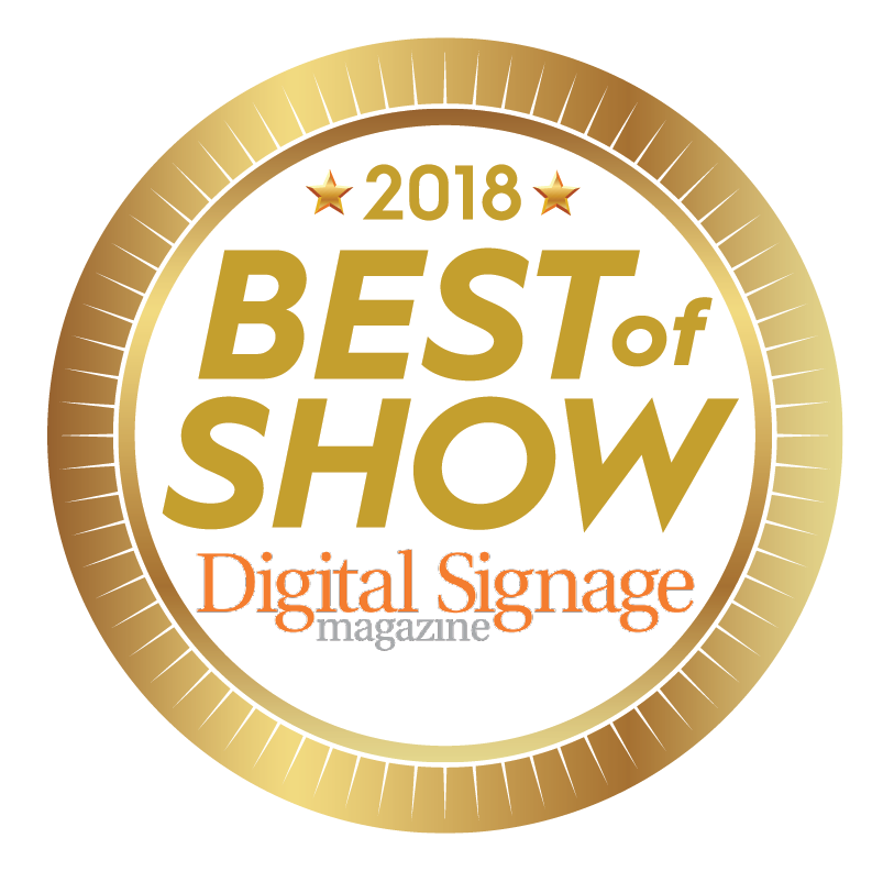 "Digital Signage ""Best of Show"""