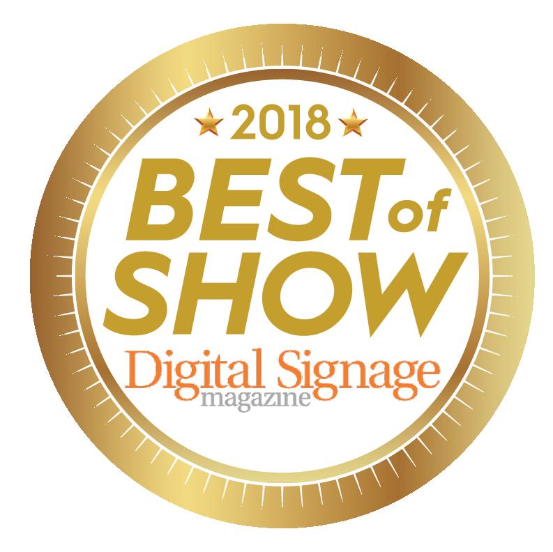 "Digital Signage ""Best of Show"""