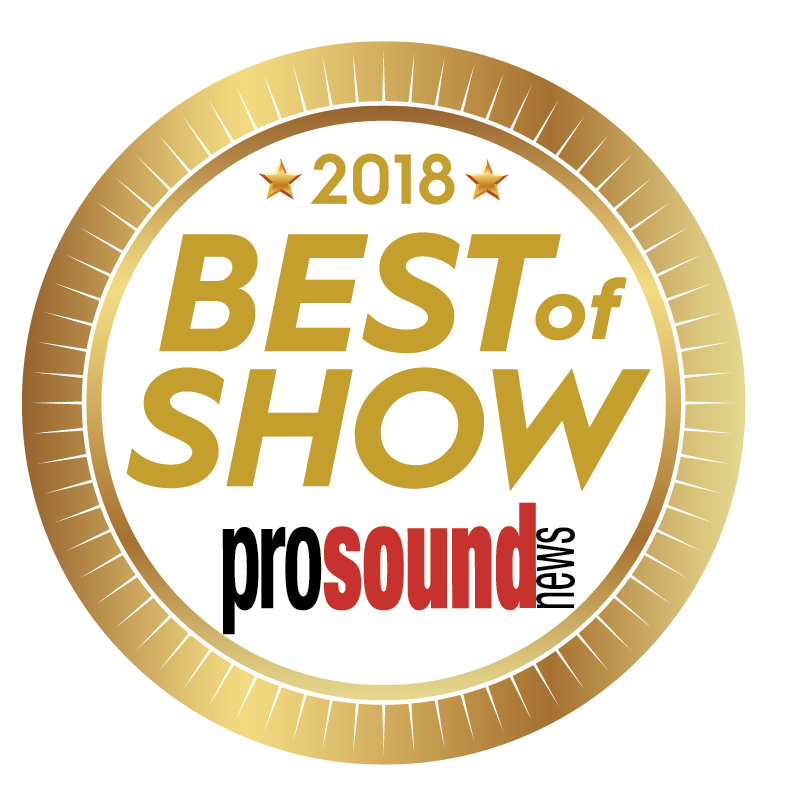 "Pro Sound News ""Best of Show"""