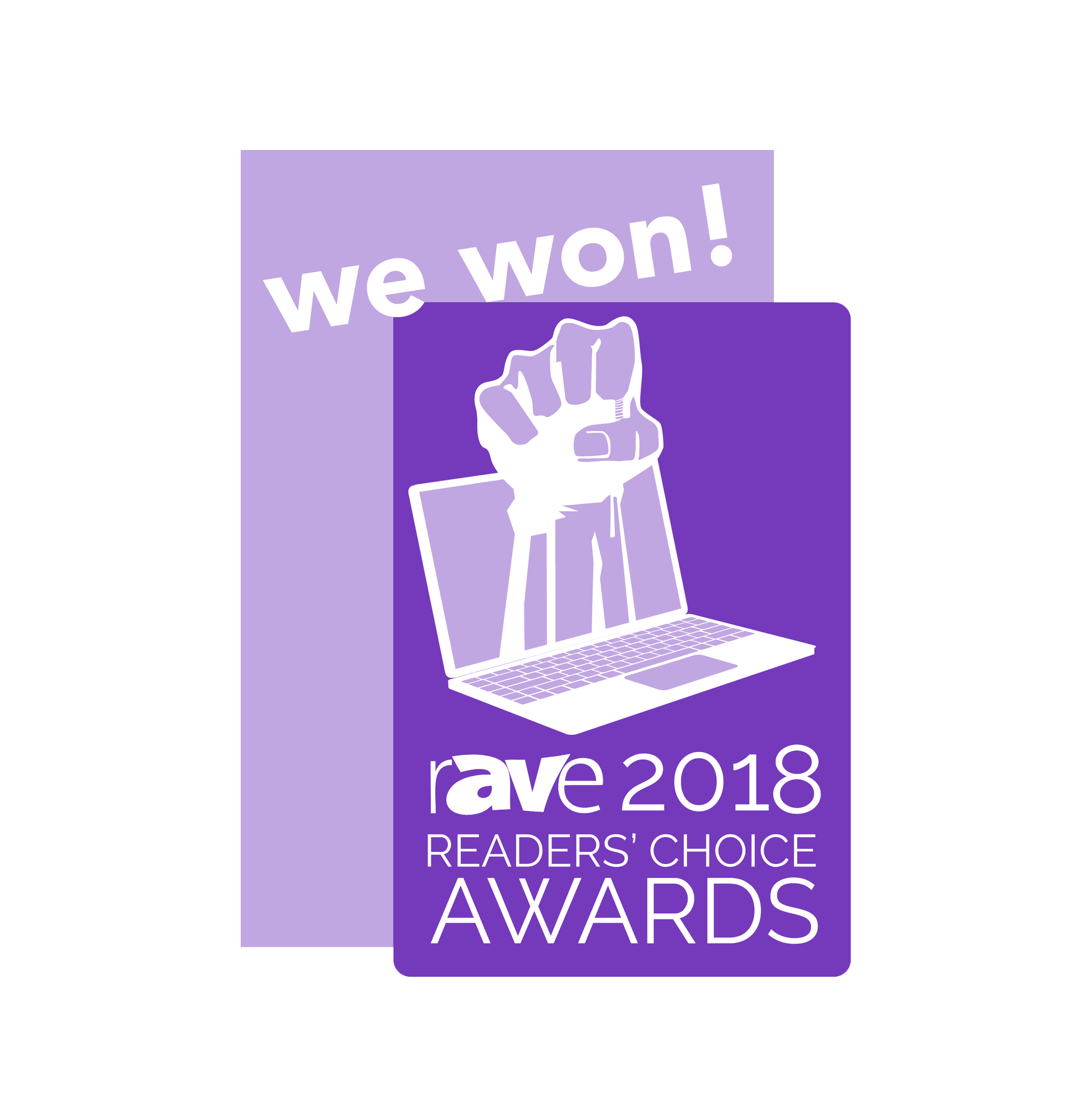 rAVE Reader's Choice Awards