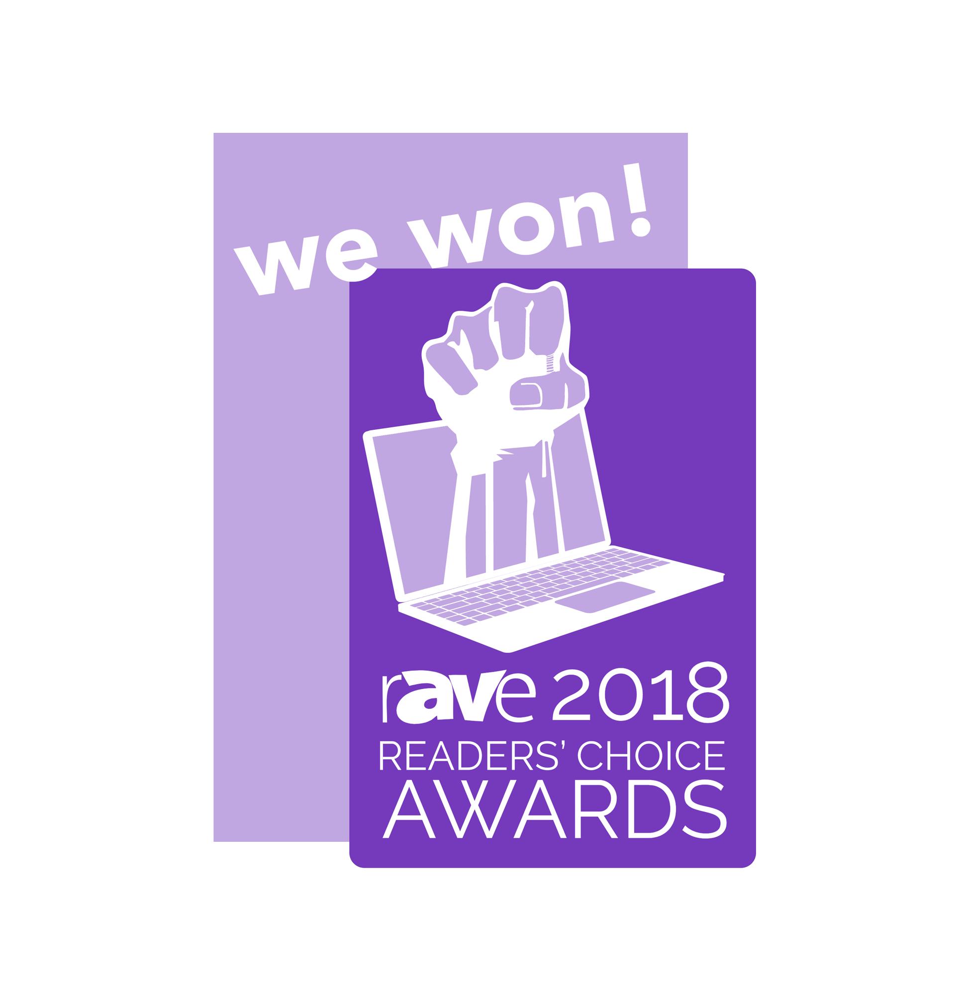 rAVE Reader's Choice Awards