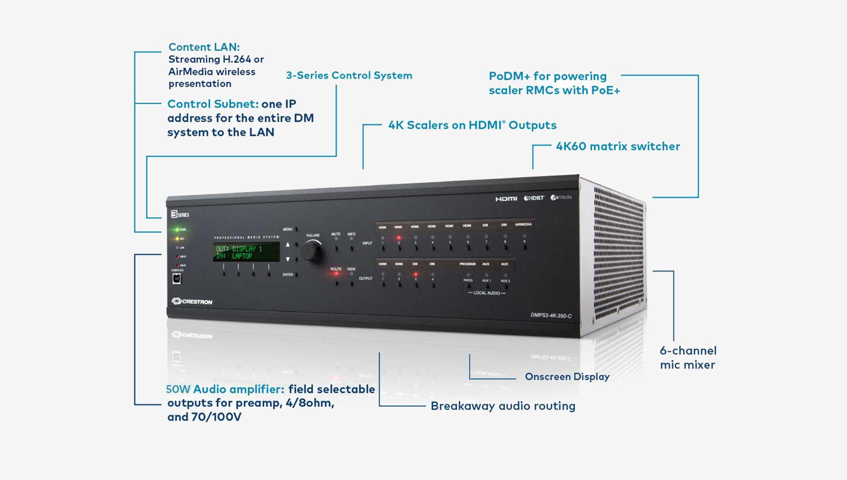 DMPS3 Series [Crestron Electronics, Inc ]