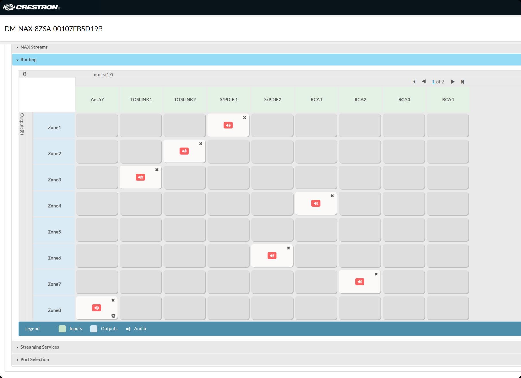 Application screenshot of Sync Controller