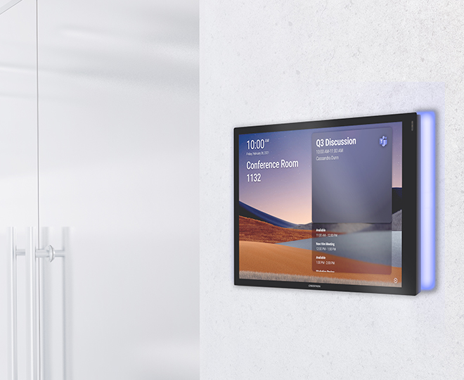 Crestron and Microsoft Teams Panels