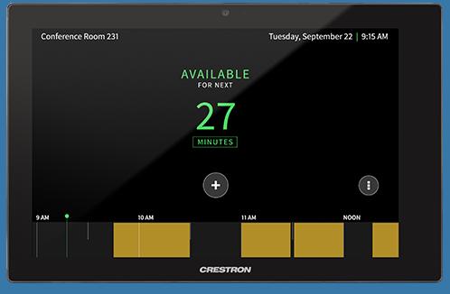 Crestron Room Scheduling [Crestron Electronics, Inc ]